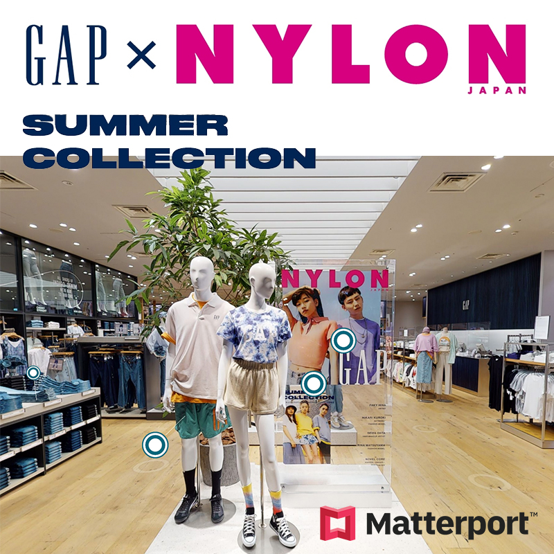 Gap × NYLON JAPAN